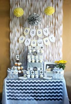 here's another idea for a backdrop. twist crepe paper & tape each end so it holds the twisted shape. this would be cute, easy and cheap