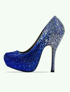 e1fab42a77ac3 Silver / Blue Occasion Shoes, Prom Shoes, Wedding Shoes, Blue Bridal Shoes,