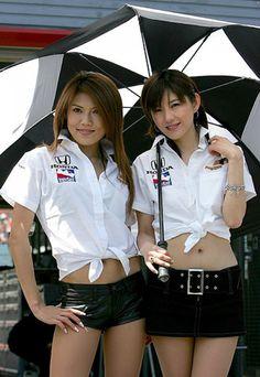 Honda Team Umbrella Girl