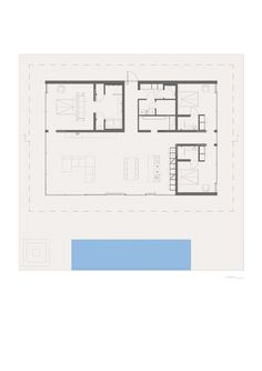Floorplan of Villa Overby in Sweden by Swedish architect John Robert Nilsson as featured in the movie