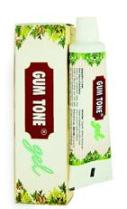Gum Tone Gel Effective solution for oral health  For gum problems, strengthening teeth and preventing tooth cavities.