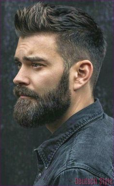 Face shape is an important factor to determine which beard style will suit on you. These are beard style for round face men to make your decision easier. Trending Hairstyles For Men, Haircuts For Men, Cool Hairstyles, Mens Hairstyles With Beard, Fashion Hairstyles, Mens Widows Peak Hairstyles, Curly Haircuts, Barber Haircuts, Hairstyles Haircuts