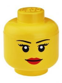 Lego Large Storage Head Girl