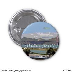 Golden Gate!! (eliso) Pin Redondo 2,5 Cm