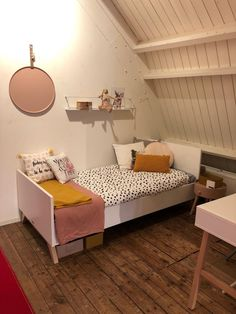 Kids Room, Toddler Bed, New Homes, House Styles, Furniture, Home Decor, Child Bed, Room Kids, Decoration Home