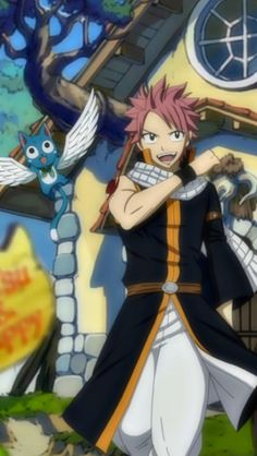 Aw I miss the old animation style of fairy tail I think it was better in the old episodes
