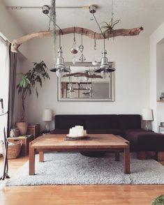 みんなどう使ってるの?流木インテリアのDIYアイディア集 | DIY FACTORY COLUMN Dream Home Design, Home Interior Design, House Design, Home Decoracion, Zen Room, House Inside, Green Rooms, Living Room Interior, Home Decor Inspiration