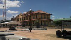 Plaza de las tres centurias, Aguascalientes, Ags.
