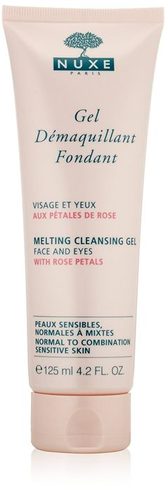 NUXE Melting Cleansing Gel with Rose Petals, 4.2 fl. oz. *** You can find more details by visiting the image link.