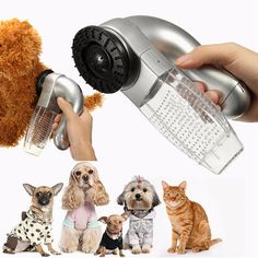 Pet Dog Hair Fur Trimmer Remover Shedding Grooming Brush Comb Vacuum Cleaner Pet Dog Fur Trimmer Pet Accessories XP0355