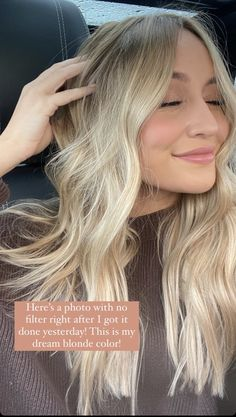 Summer Blonde Hair, Blonde Hair Shades, Honey Blonde Hair, Blonde Hair Looks, Beachy Blonde Hair, Neutral Blonde, Ash Blonde, Blonde Hair Inspiration, Hair Inspo