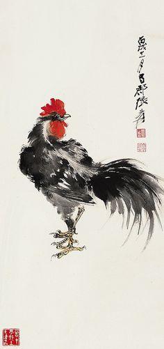 Painted byZhang Daqian (張大千, 1899-1983)