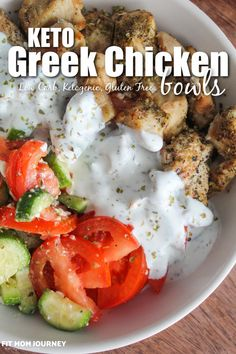 Healthy Low Carb Recipes, Diet Recipes, Cooking Recipes, Carb Free Recipes, Low Carb Chicken Recipes, Yummy Healthy Dinner Recipes, Low Carb Food, Carb Free Meals, Low Carb Chicken Salad