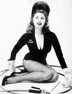 Sophia Loren was selected as Miss Welder of 1954 by the National Eutectic Welders' Club