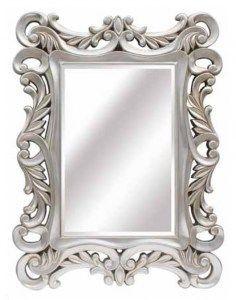 Espejos Barockspiege Espejo De Pared En Repro Antiguo Barroco Estilo Moderno Oro Blanco Muebles Antiguos Y Decoración