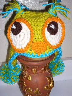Mr. Owl hat