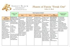 Ashley Black Fasciology Chart