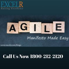 The Agile Manifesto Made Easy!  Meet requirements and creating solutions through collaborative effort of self organized, cross functional teams along with their customers and end users.  Accelerated deliveries and has made processes more flexible and responsive to changing requirements!   #Learn #Exclr #TopicDiscuss #Elearning #BusinessAnalytics #ExcelR #LearnBigData #Cloudcomputing #LearnAgile #Softwaretesting