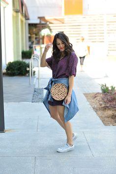 Best ways to dress down a dress for summer - My Style Vita @mystylevita