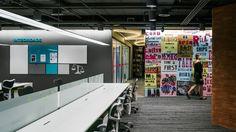 Linkedin escritório corporativo área de trabalho