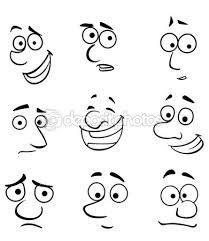 """Résultat de recherche d'images pour """"dessins visages expressifs"""""""