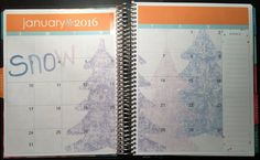 My Planner Envy: January 2016 Monthly Cover Squares - Free Planner Printable