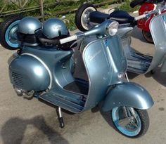 Old Vespa photo collection