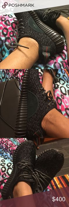 Yeezy Boost 350 size 7, worn 3x, ( price is negotiable)! Adidas Shoes Sneakers