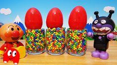 アンパンマン たまご❤アンパンマンおもちゃアニメ キャラクター エピソード34 Surprise Eggs Toy Kids トイキッズ ani...