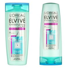 L'Oreal Elvive Extraordinary Clay Rebalancing Shampoo & Conditioner // The August Review #blogger #review #loreal