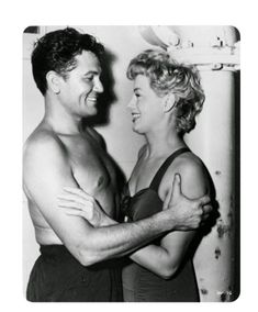 """Vintage Glamour Girls: Shelley Winters & John Garfield in """" He Ran All th. Hollywood Men, Old Hollywood Stars, Old Hollywood Glamour, Golden Age Of Hollywood, Vintage Hollywood, Hollywood Actresses, Classic Hollywood, Actors & Actresses, Vintage Glamour"""