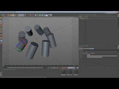 Using Nulls with the Array Object in Cinema 4D - YouTube