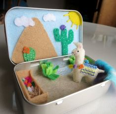 Your place to buy and sell all things handmade Cute Crafts, Felt Crafts, Crafts For Kids, Diy Crafts, Diy Gifts For Your Best Friend, Felt Glue, Felt Animal Patterns, Mint Tins, Fabric Birds