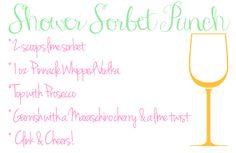 Probably Polka Dots: Sorbet Punch Recipe
