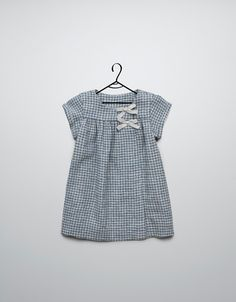 checked dress with little bows - Dresses - Baby girl (3-36 months) - Kids - ZARA United Kingdom