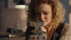 Uma das cenas mais tocantes, dentre as muitas da novela Sete Vidas - Miguel sensibiliza Laila com presente