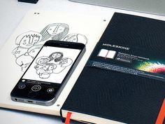 Moleskine Smart Notebook Creative Cloud Connected – Jenni Bick Bookbinding