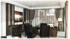 Office Interior Office Interiors, Aviation, Conference Room, Divider, Curtains, Table, Furniture, Home Decor, Blinds