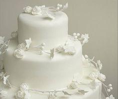 все белые свадебные торты 5