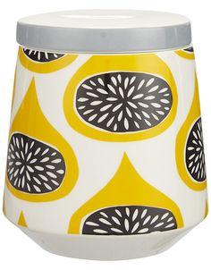 print & pattern blog :  MissPrint storage jar.
