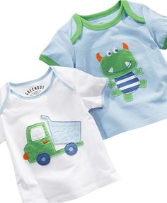 First Impressions Playwear Baby Shirt, Baby Boys Graphic Tee looks like I need to go to macys