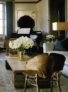 Stephen Sills living room