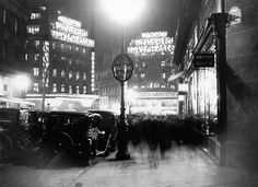 Les Galeries Lafayette is a department store famous for their festive seasonal decorations. Here it is in 1929.
