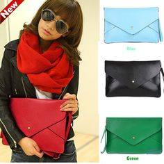 Man made leather / 35 x 23 cm     Comes in 8 different colours - black, brown, green, red, yellow, blue, orange and khaki.