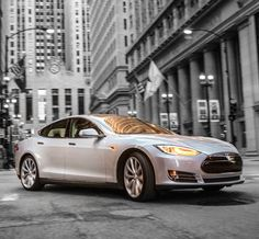 The Tesla Model S: One of the 'top' cars the wealthiest americans own! Click on the pic to find out the top 5 cars the 'ultra rich' are buying!