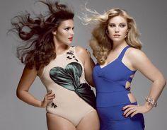 Curvy Models.