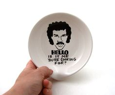 Hello Lionel Richie  Is It Me You're Cooking For Spoon by LennyMud, $16.00