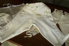 Two Nerdy History Girls: A Perfect Pair of Gentleman's Buckskin Breeches