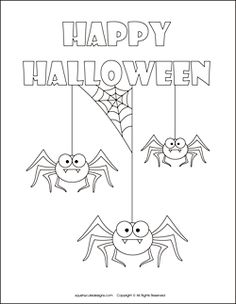 Free Halloween Coloring Pages | Halloween Coloring Sheets