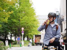 kumoa(クモア) ヘルメット  普段づかいの自転車用ヘルメットです。